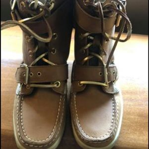 Sperry Boat-Shoe Lace Up Boots